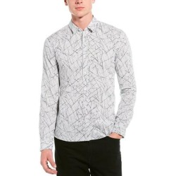 Hugo Hugo Boss Ero Extra Slim Fit Woven Shirt found on MODAPINS from Overstock for USD $36.30