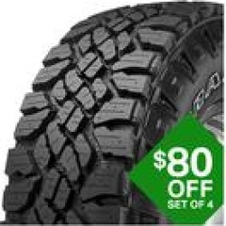 Goodyear Wrangler DuraTrac - LT285/70R17D 121Q found on Bargain Bro Philippines from samsclub.com for $292.99
