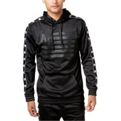 American Stitch Mens Dogo Logo Hoodie Sweatshirt, Black, Small found on Bargain Bro from Overstock for USD $38.59