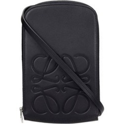 Waist Bag In Black Leather - Black - Loewe Belt Bags found on MODAPINS from lyst.com for USD $556.00