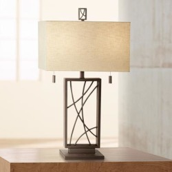 Crossroads Open Base Table Lamp found on Bargain Bro Philippines from LAMPS PLUS for $190.00