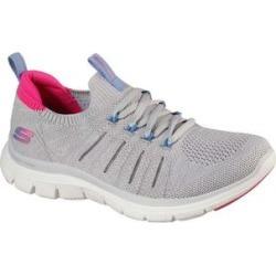 Skechers Women's Sneakers GYPK - Gray & Pink Flex Appeal 4.0 Simple Joy Sneaker - Women found on Bargain Bro India from zulily.com for $64.99