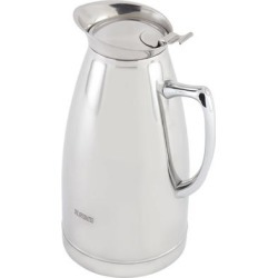 Bon Chef 4054DECAF 48 oz. Insulated Stainless Steel Server with Decaffeinated Crest