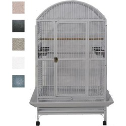 A&E Cage Company Grey Palace Dometop X-Large Bird Cage, 36