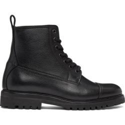 Black Alperton Boots - Black - Belstaff Boots found on MODAPINS from lyst.com for USD $425.00