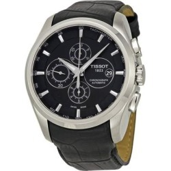 Couturier Automatic Chronograph Mens Watch - Metallic - Tissot Watches found on Bargain Bro India from lyst.com for $575.00