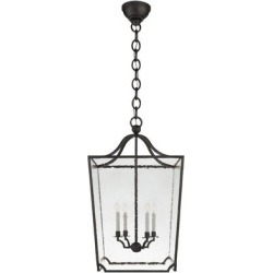Ralph Lauren Ralph Lauren Beatrice 24 Inch Cage Pendant - RL 5742AI-RG found on Bargain Bro India from Capitol Lighting for $2099.00