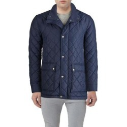 Diamond Quilted Jacket - Blue - Cole Haan Jackets found on Bargain Bro Philippines from lyst.com for $75.00