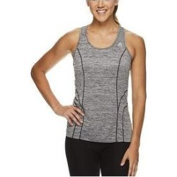 Reebok Womens Racerback Tank Top (Black - Large), Women's(polyester) found on Bargain Bro India from Overstock for $15.98