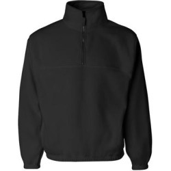 Quarter-Zip Fleece Pullover (Royal Blue - S), Men's found on Bargain Bro Philippines from Overstock for $43.82
