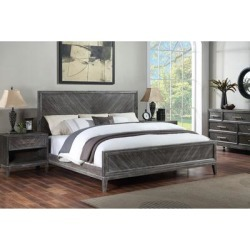 Safavieh Couture Almira Wood Bed found on Bargain Bro from Overstock for USD $694.25