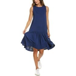 Goldie Hendrik Dress (8), Women's, Blue(nylon, metallic) found on MODAPINS from Overstock for USD $87.99