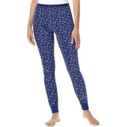 Plus Size Women's Thermal Lounge Pant by Comfort Choice in Evening Blue Stars (Size 2X) found on Bargain Bro Philippines from Ellos for $14.99