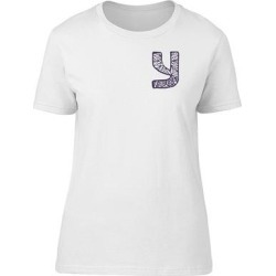 Floral Capital Letter Y Tee Women's -Image by Shutterstock (M), White(cotton, Graphic) found on Bargain Bro Philippines from Overstock for $13.99