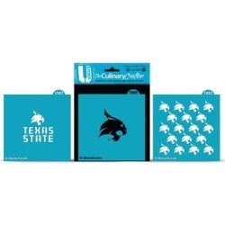 Texas State Bobcats Culinary Crafter Stencil Set found on Bargain Bro Philippines from Fanatics for $24.99