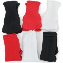 American Fashion World Doll Clothing - Red & Black Six-Piece Tights Set for 18'' Doll found on Bargain Bro Philippines from zulily.com for $7.99