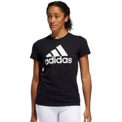 Women's adidas Badge of Sport Tee, Size: Small, Black found on Bargain Bro from Kohl's for USD $14.25