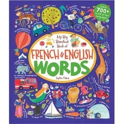 Barefoot Books Educational Workbooks - My Big Barefoot Book of French & English Words Hardcover found on Bargain Bro India from zulily.com for $12.99