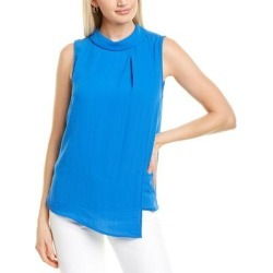 Vince Camuto Rumple Georgette Top (00), Women's, Multicolor(polyester) found on Bargain Bro India from Overstock for $21.99