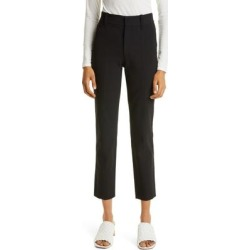 High Waist Cigarette Pants - Black - Vince Pants found on Bargain Bro from lyst.com for USD $247.00