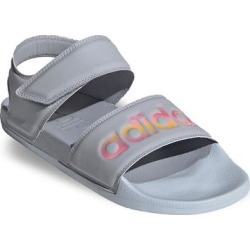adidas Adilette Women's Strappy Sandals, Size: 11, Grey found on Bargain Bro from Kohl's for USD $26.59