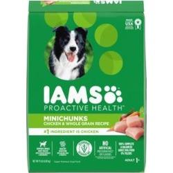 Iams ProActive Health Adult MiniChunks Dry Dog Food, 15-lb bag