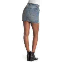 Star Stud Denim Mini Skirt - Blue - AllSaints Skirts found on Bargain Bro Philippines from lyst.com for $55.00