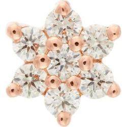 Diamond Flower 18kt Rose Gold Earring - Metallic - Maria Tash Earrings found on Bargain Bro from lyst.com for USD $338.20