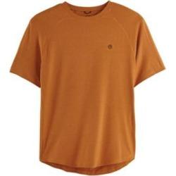 Men's Wrangler All-Terrain Performance Short-Sleeve Shirt, Autumn XL found on Bargain Bro from Blair.com for USD $15.19