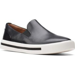 Clarks Un Maui Stride Slip On Sneaker - Black - Clarks Sneakers found on Bargain Bro from lyst.com for USD $49.40