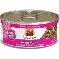 Weruva Asian Fusion with Tuna & Shirasu Grain-Free Canned Cat Food, 5.5-oz, case of 24