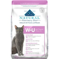 Blue Buffalo Natural Veterinary Diet W+U Weight Management + Urinary Care Dry cat Food, 16 lbs. found on Bargain Bro Philippines from petco.com for $77.99
