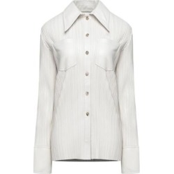 Shirt - White - Nanushka Tops found on MODAPINS from lyst.com for USD $540.00