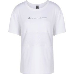 T-shirt - White - Adidas By Stella McCartney Tops found on Bargain Bro India from lyst.com for $102.00