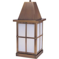 Arroyo Craftsman Hartford 19 Inch Tall 1 Light Outdoor Pier Lamp - HC-8-RM-RB found on Bargain Bro from Capitol Lighting for USD $338.96