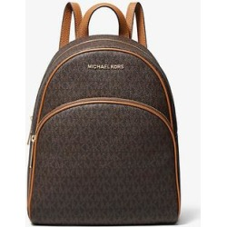 Michael Kors Abbey Medium Logo Backpack Brown One Size found on Bargain Bro Philippines from Michael Kors for $180.60