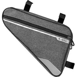 Tech Zebra Bike Accessories Gray - Gray Bicycle Storage Pouch found on Bargain Bro from zulily.com for USD $12.15