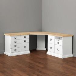 Zinc Top - Corner Desk Group Large - Ballard Designs found on Bargain Bro India from Ballard Designs for $1949.00