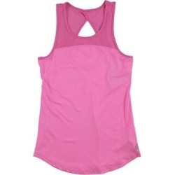 Reebok Womens Tempo Singlet Tank Top (Medium), Women's, Pink(polyester) found on Bargain Bro India from Overstock for $22.15