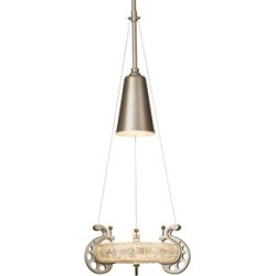Hubbardton Forge Lens 12 Inch Large Pendant - 187510-1002 found on Bargain Bro India from Capitol Lighting for $825.00