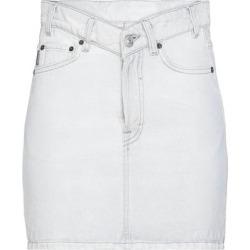 Denim Skirt - Gray - Balenciaga Skirts found on Bargain Bro Philippines from lyst.com for $530.00