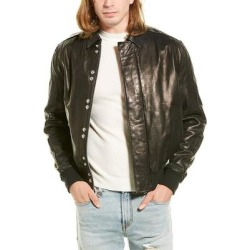 Iro Drill Leather Jacket found on MODAPINS from Overstock for USD $465.74