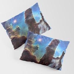 Pillars Of Creation King Size Pillow Sham by Headrubble - STANDARD SET OF 2 - Cotton