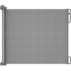 Perma Child Safety Retractable Safety GatePlastic in Gray, Size 33.0 H x 71.0 W x 3.15 D in   Wayfair 2741 found on Bargain Bro Philippines from Wayfair for $46.99