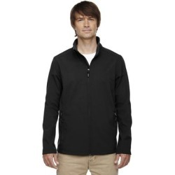 Tall Cruise Two-Layer Fleece Bonded Soft Shell Men's Big and Tall Black 703 Jacket found on Bargain Bro Philippines from Overstock for $48.14