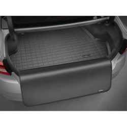 WeatherTech Cargo Liner wProtector, Fits 2013-2019 Hyundai Santa Fe, Primary Color Black, Pieces 2, Model 40609SK found on Bargain Bro from northerntool.com for USD $112.44