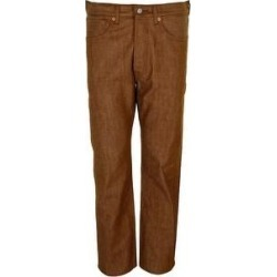 Levi's Men's 501 Original Shrink to Fit Button Fly Jeans (Tan 2125 - 36X30), Brown(canvas) found on MODAPINS from Overstock for USD $49.97