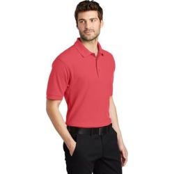 Port Authority Men's Silk Touch Wrinkle Resistance Polo found on Bargain Bro Philippines from Overstock for $27.49