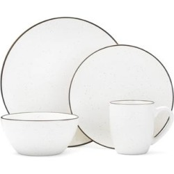 Mikasa Gourmet Basics Juliana Cream 16-piece Dinnerware Set found on Bargain Bro India from Overstock for $69.99