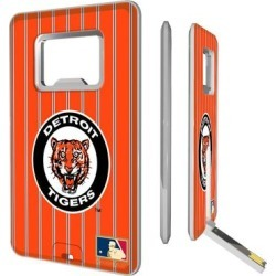 Detroit Tigers 1961-1963 Cooperstown Pinstripe Credit Card USB Drive & Bottle Opener found on Bargain Bro from Fanatics for USD $18.99